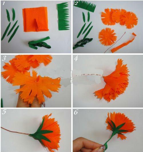 Поделки своими руками из бумаги поэтапно цветы