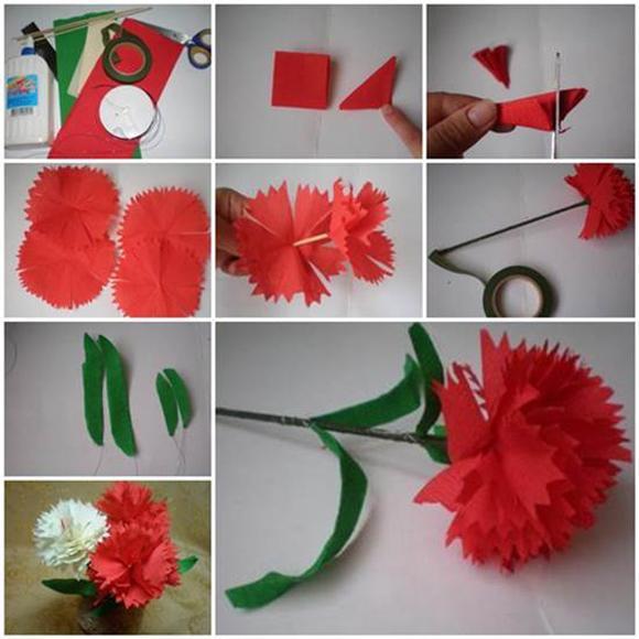 Цветы конфеты пошаговая инструкция