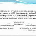 Введение диссертации (часть автореферата) На тему «Концепция генетической социологии М. М. Ковалевского»