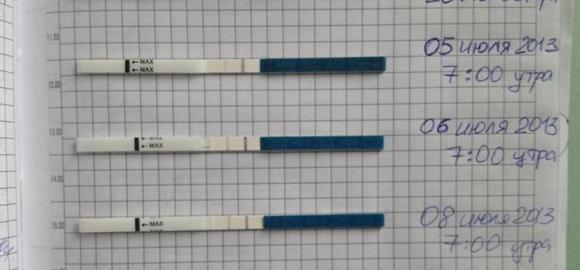 На каком сроке делают тест на беременность