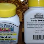 Витамины Биотин для волос