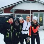 Состав женской сборной Украины на спринт в Антхольце