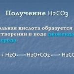 Угольная кислота