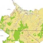 Карта Старорусского района Новгородской области с городами и населенными пунктами